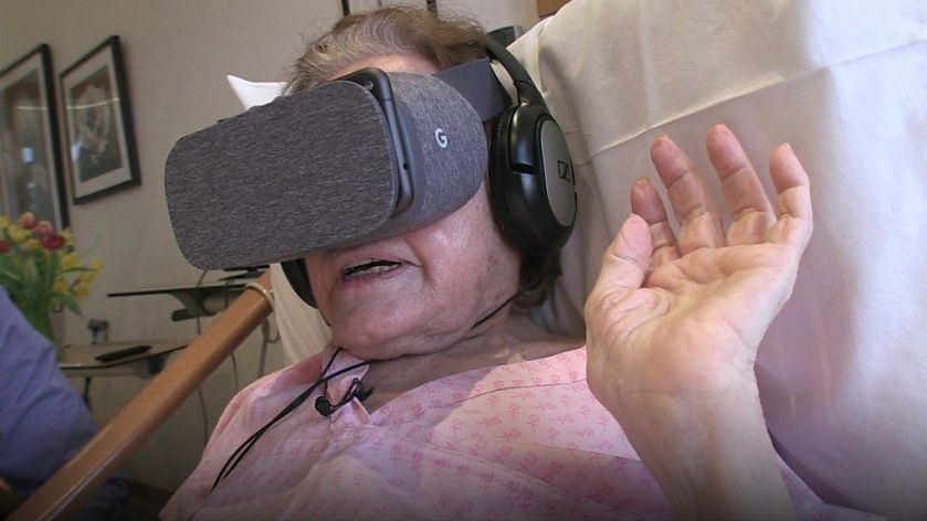 BBC News - #VR takes cancer patient back home  #healthcare #TransformHIT