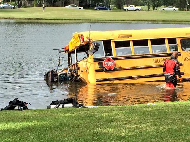 BREAKING | Hillsborough County school bus driver who crashed into pond ruled not guilty