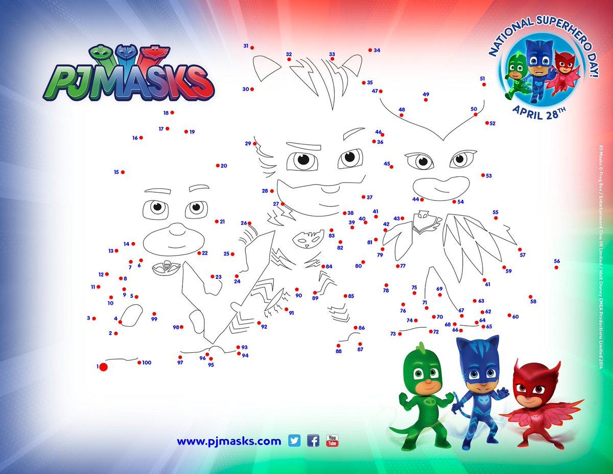Pj Masks Us On Twitter Find This Super Activity Sheet