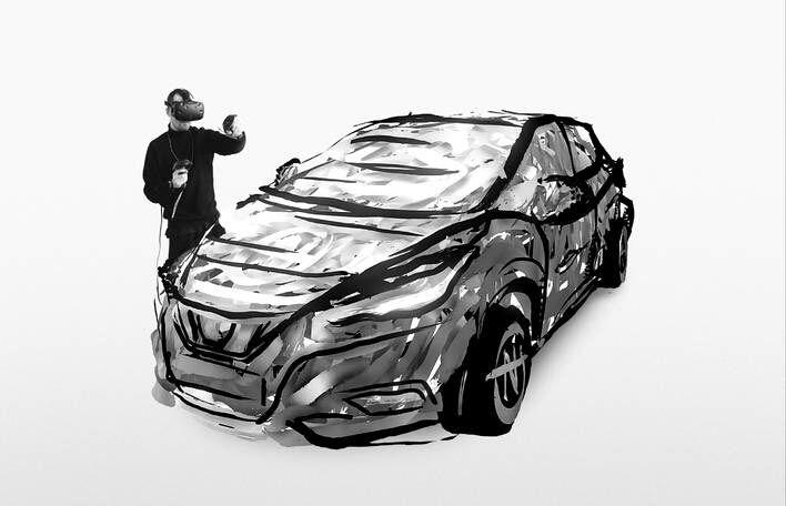 Brilliant 3D Tilt Brush Creation by Nairone  #vr