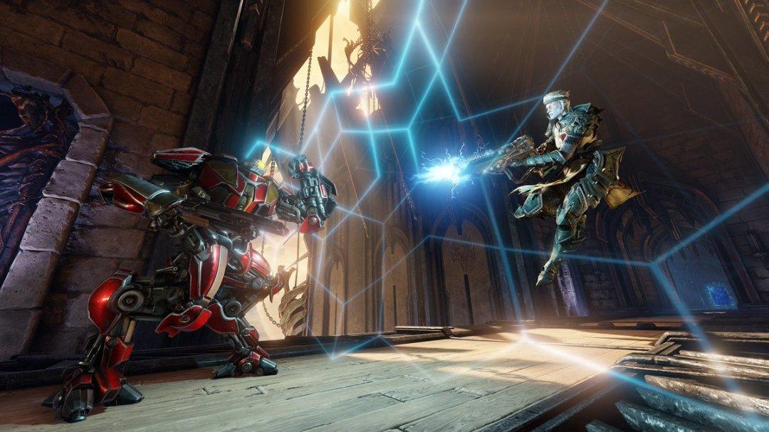 Quake Champions Raw Gameplay Trailer