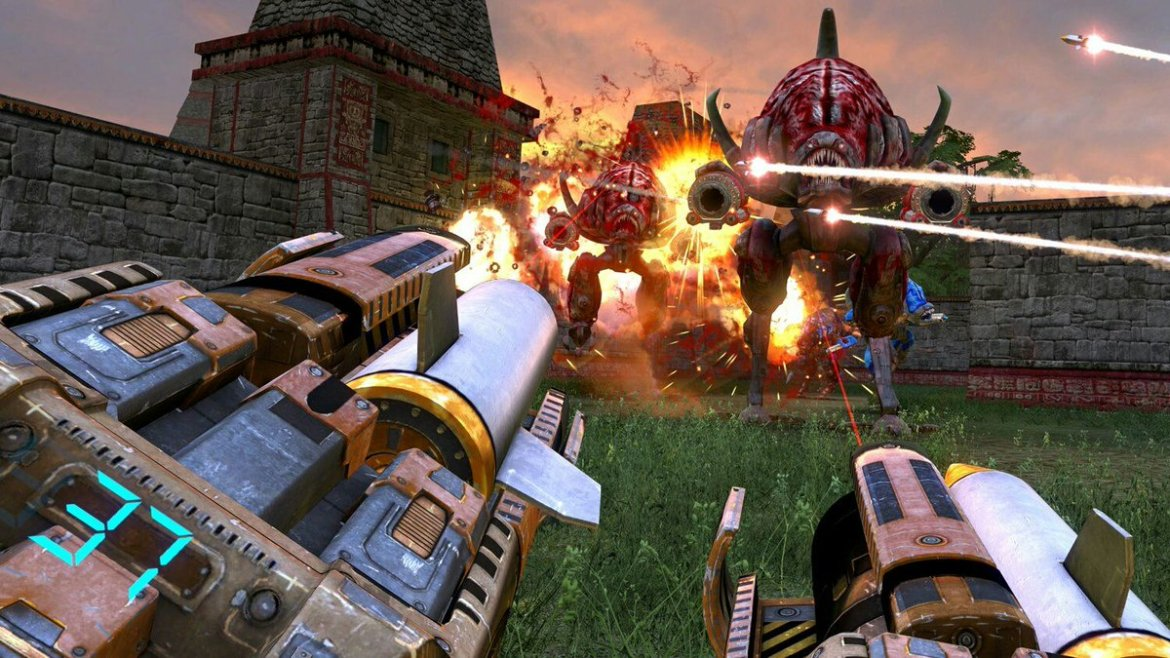 Serious Sam: The Second Encounter Arrives on Vive and Rift  #vr