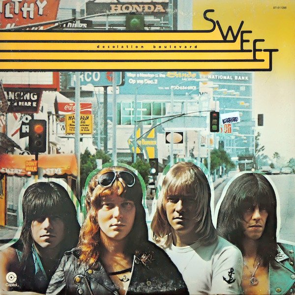 Sweet Desolation Boulevard Album Cover