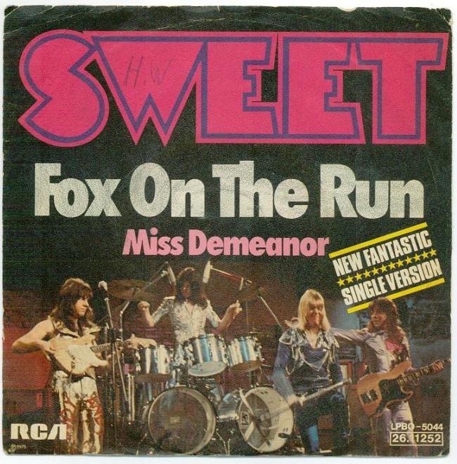 Sweet Fox On The Run Lyrics