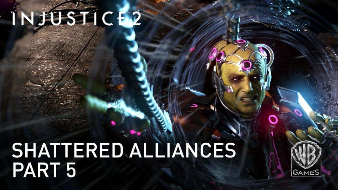 Injustice 2 Shattered Alliances - Part 5 Trailer 2