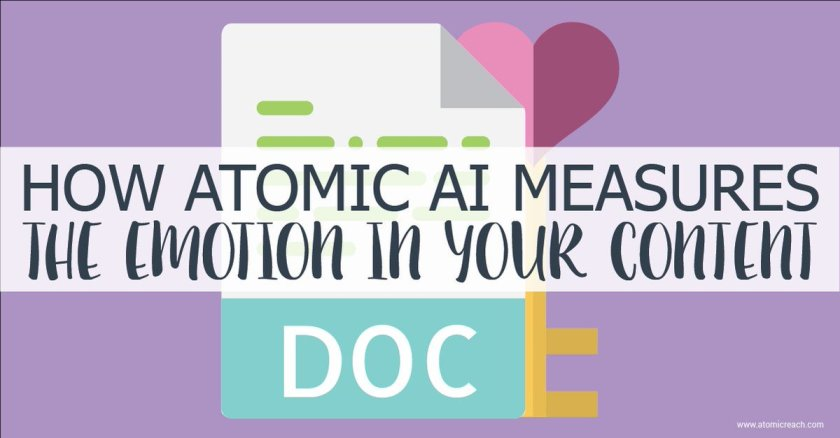 How Atomic #AI Measures The Emotion In Your #Content  ​#contentoptimization