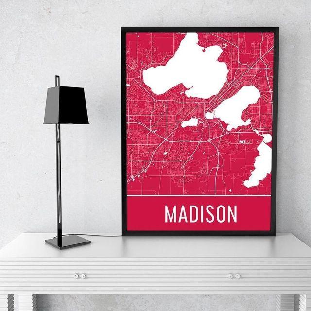 Image result for modern map art twitter