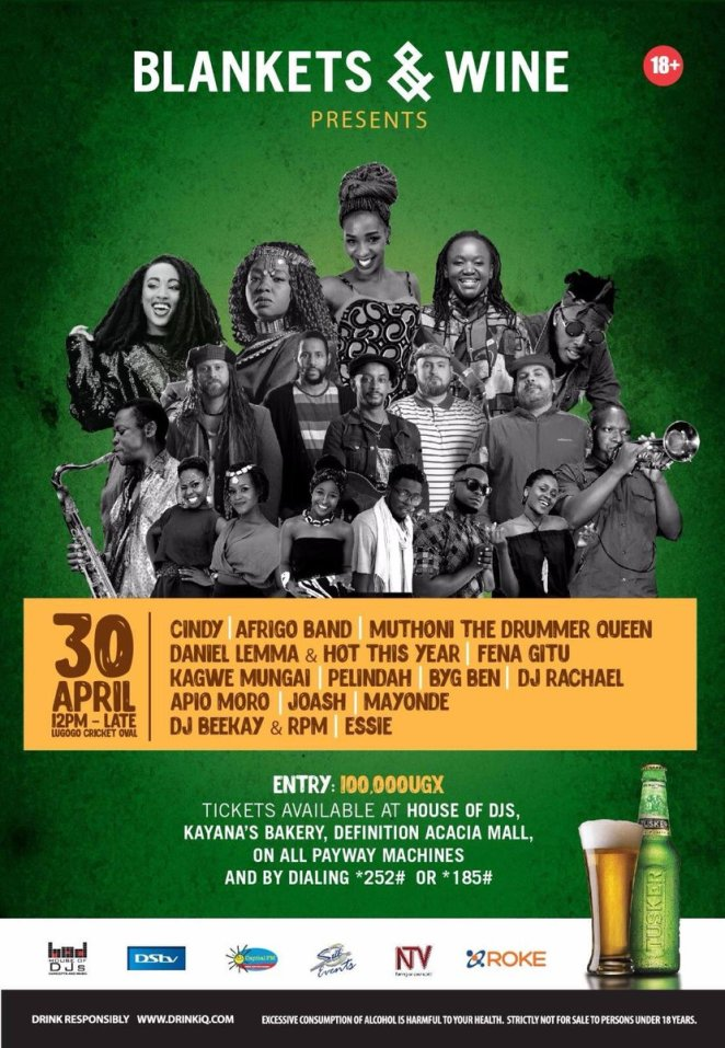Image result for Uganda: Afrigo Band Headlines Blankets and Wine This Weekend
