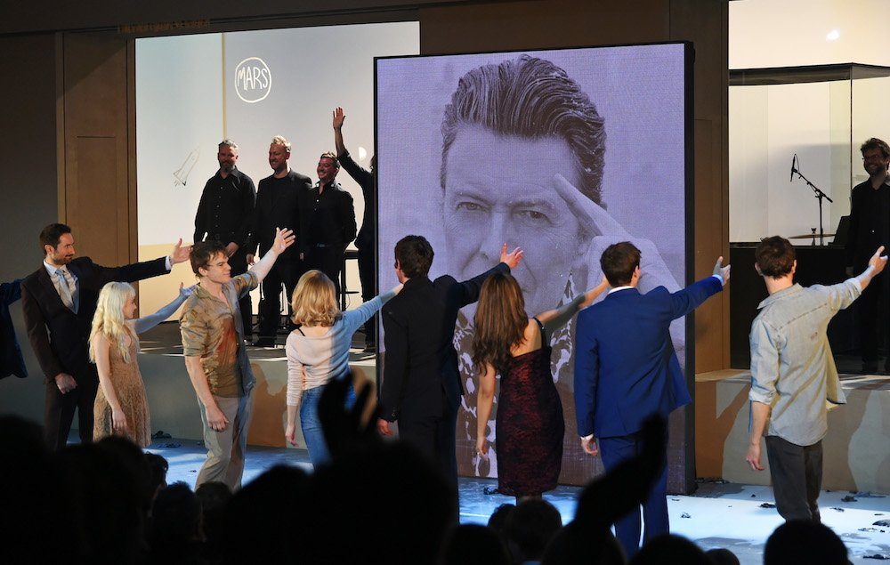 David Bowie's 'Lazarus' is set to become a virtual reality experience