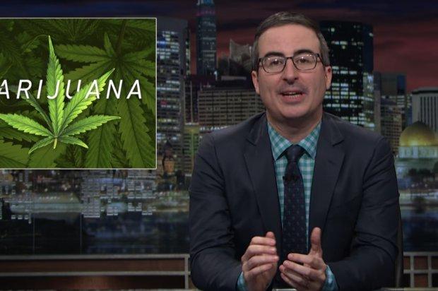 .@iamjohnoliver Talks Marijuana Laws on @LastWeekTonight