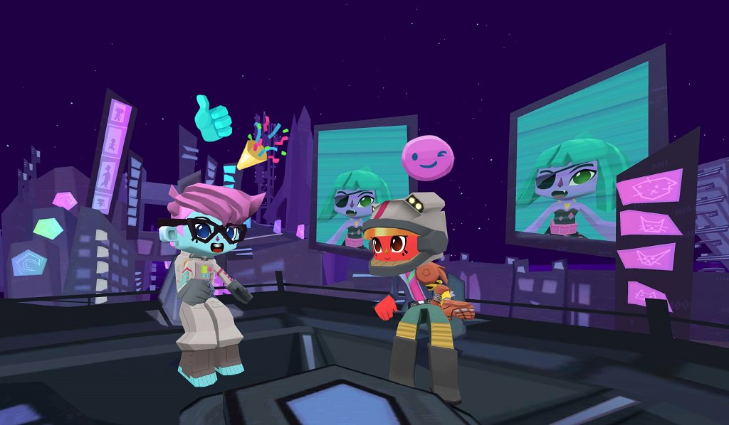 Try and carry a tune in @SingSpaceGame for #GearVR @Harmonix #VR -