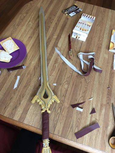 falchion sword cosplay