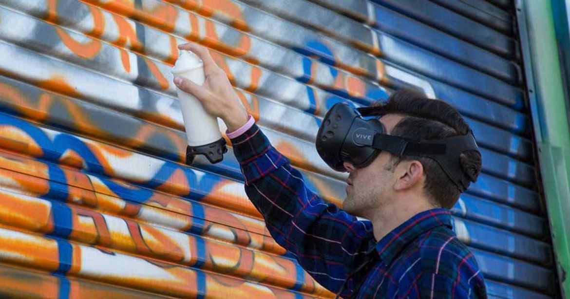 Graffiti your heart out without fear of arrest with this #VR hack