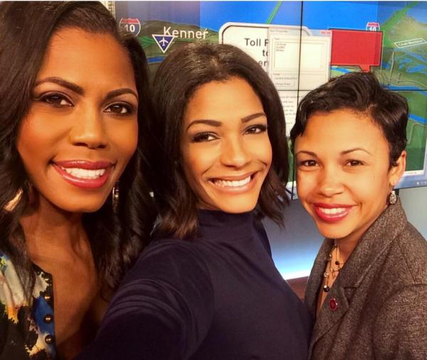 "Tamica Lee on Twitter: ""@omarosa in the @WWLTV studio this ..."