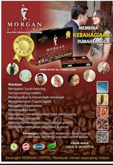 jual morgan coffee termurah