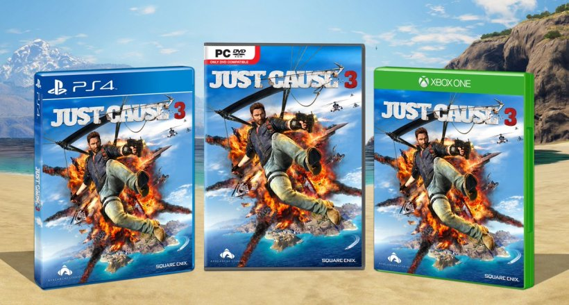 trailer gameplay de Just Cause 3