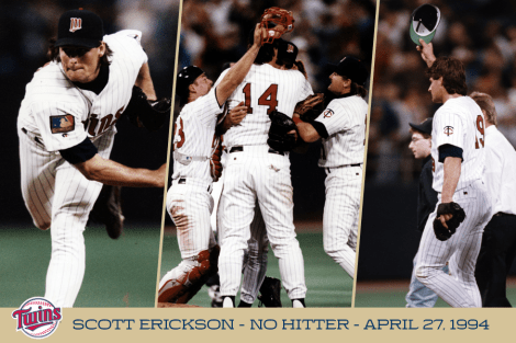 """Minnesota Twins on Twitter: """"On this date in 1994, Twins Pitcher ..."""