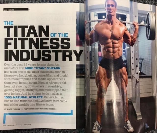 Thank You Muscle_fitness For The Kick Ass Spread Grab Your Copy Today And Weigh