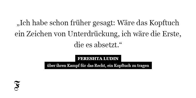 Niemand wird durch das Kopftuch islamistisch – eine Erwiderung von Fereshta Ludin: http://t.co/OF5LiSxAkB