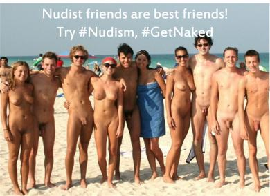 Image result for nudist friends