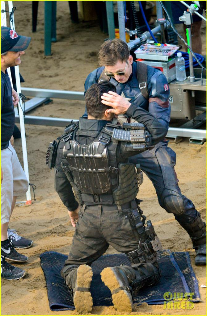 Captain America: Civil War Set Photos & Videos 37