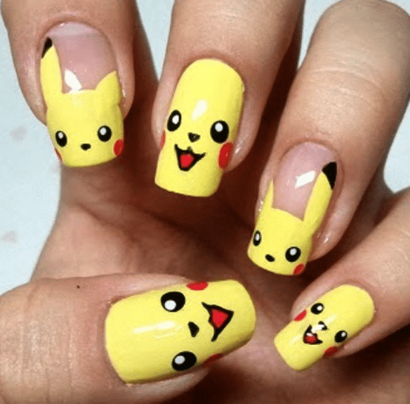 23 Awesome Nail Art Designs Inspired By Pokémon T Co