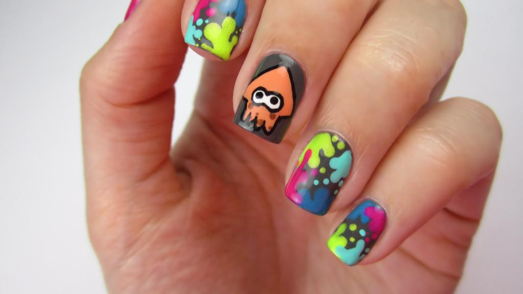 Cutepolish On Twitter Have You Seen My New Splatoon Yet Callie And Marie Would Approve Nerdnailseries S T Co 9m0wrbqgoq