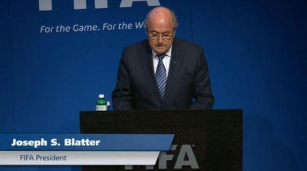 Sepp Blatter Mengundurkan Diri Sebagai Presiden FIFA