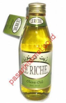khasiat minyak zaitun le-riche