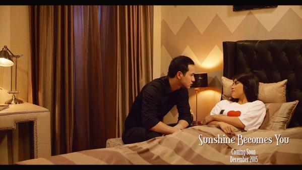 Adegan Mesra Herjunot Ali-Nabilah JKT48 di Sunshine Becomes You