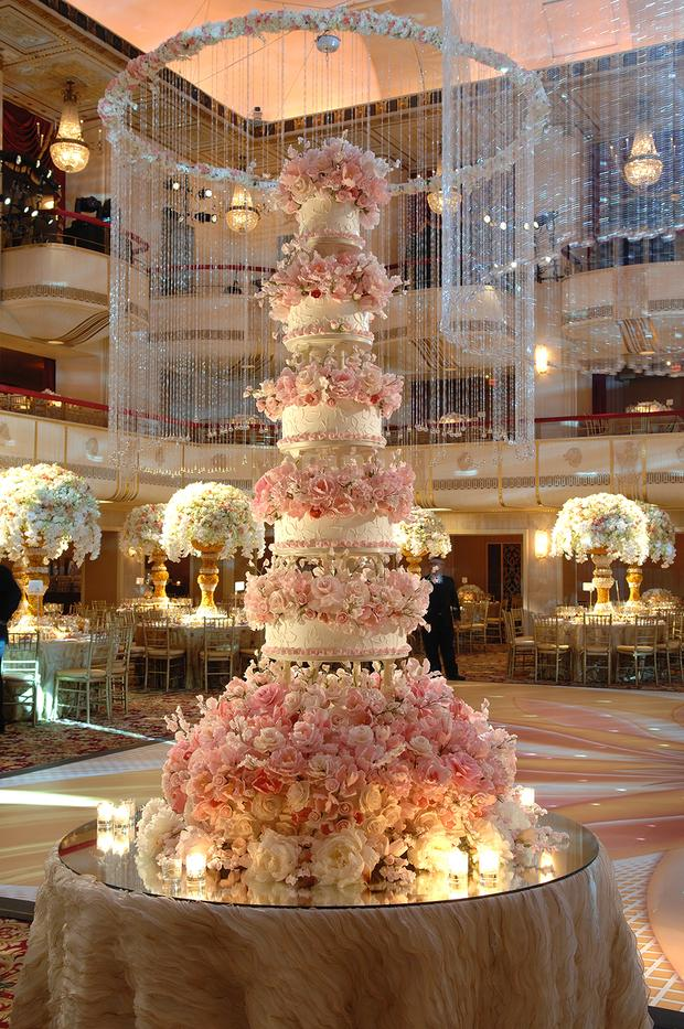 The st  regis now specializes in 12 foot tall wedding cakes     The St  Regis now specializes in 12 foot tall wedding cakes  http