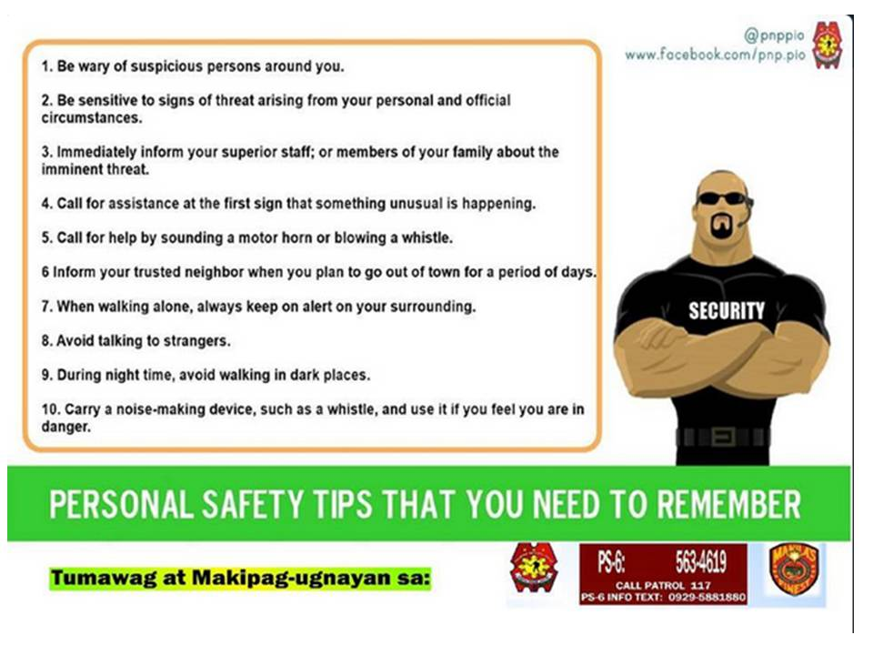 Personal Security Tips Nigeria