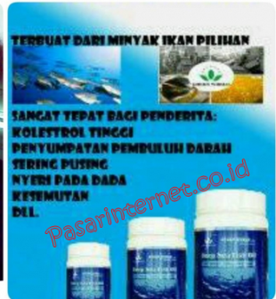 manfaat dan khasiat Green World Deep Sea Fish Oil Softgel