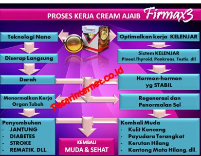 Proses kerja cream ajaib firmax3