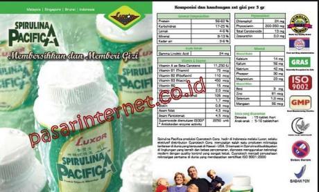 Manfaat dan kelebihan Spirulina Pacifica dari luxor dibandingkan Spirulina merk lainnya