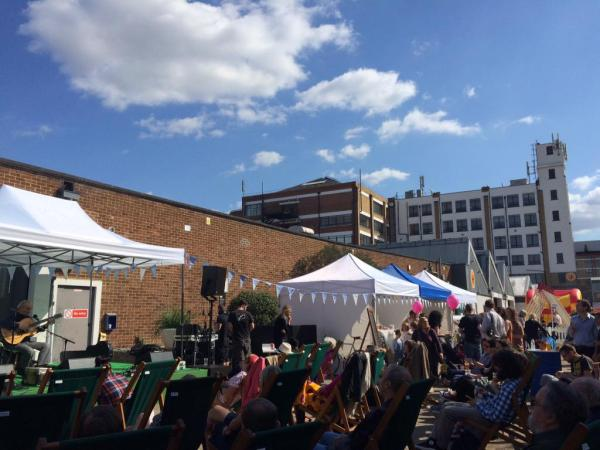 The Summer Fete last year at the Biscuit Factory