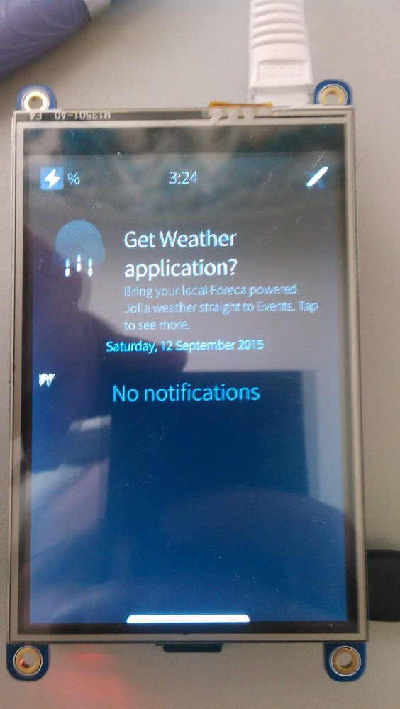 SailfishOS Early Access 1.1.9.28 Tested on Raspberry Pi 2