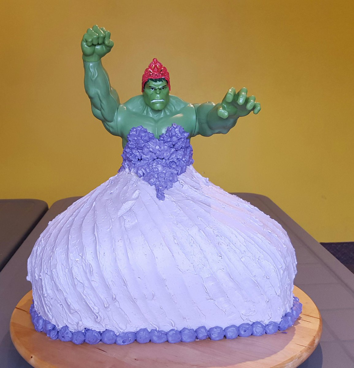 Twin 4 Year Old Girls Asked For A Hulk Princess Birthday
