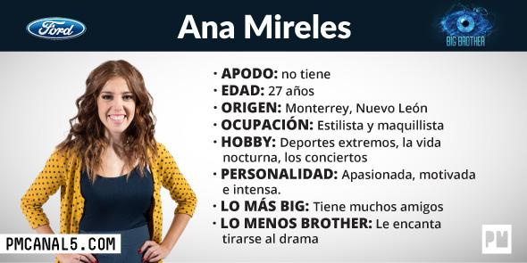 Ana Mireles - Participante Big Brother