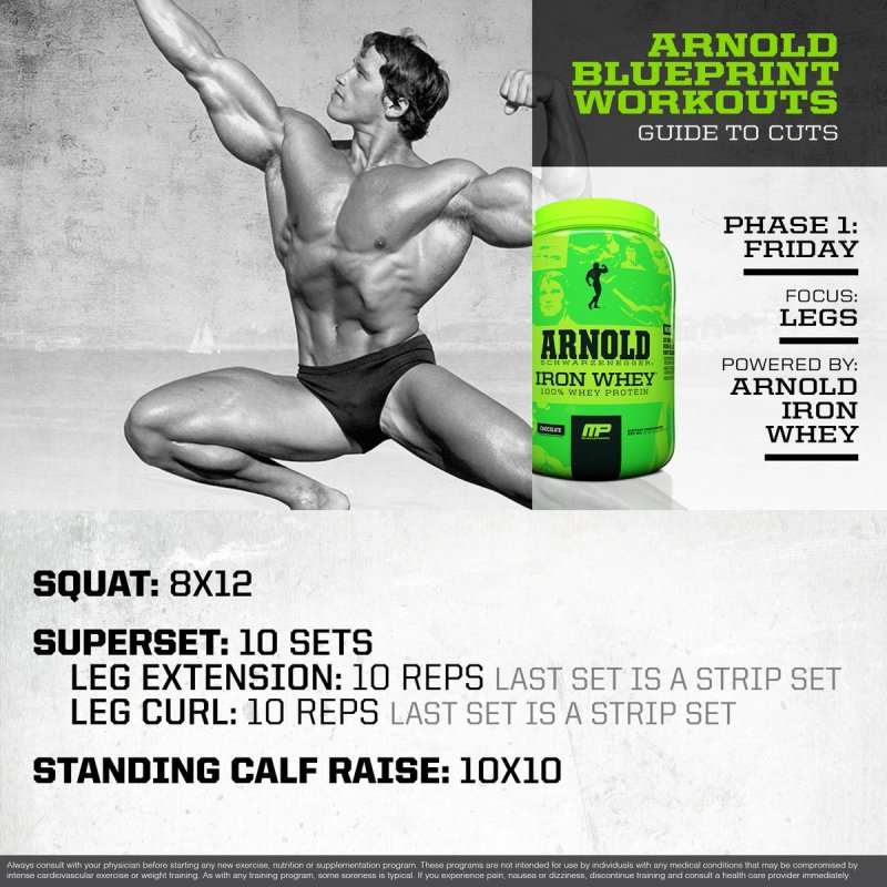 Arnold schwarzenegger blueprint workout day 16 workout musclepharm on twitter mp workout of the day arnold malvernweather Gallery