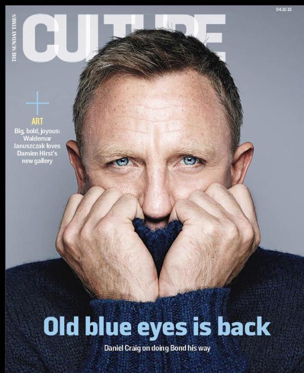 """James Bond on Twitter: """"Daniel Craig features on the cover ..."""