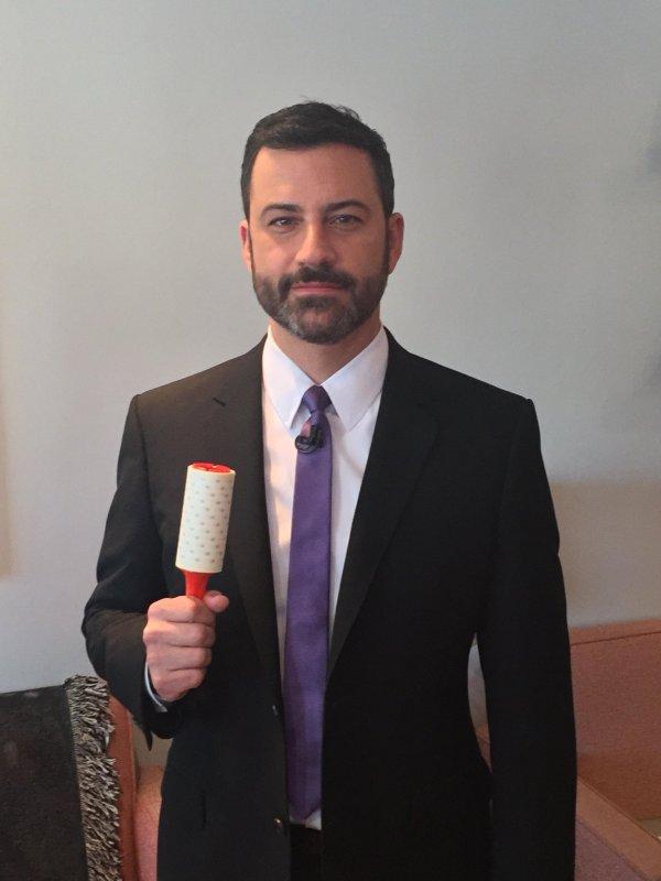 """Jimmy Kimmel Live on Twitter: """"Jimmy is wearing purple ..."""