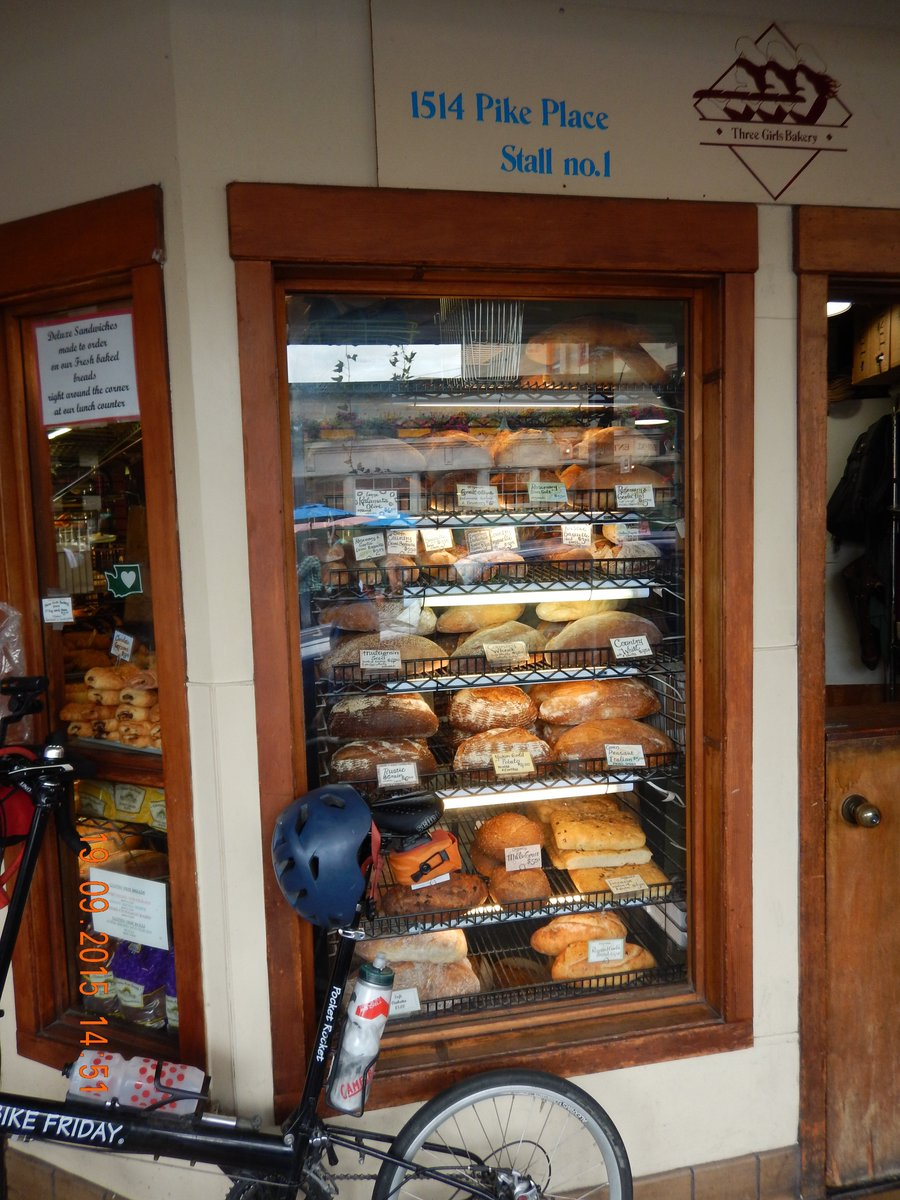 Dream bicycle bakery-to-bakery tour of Puget Sound & San Juan islands