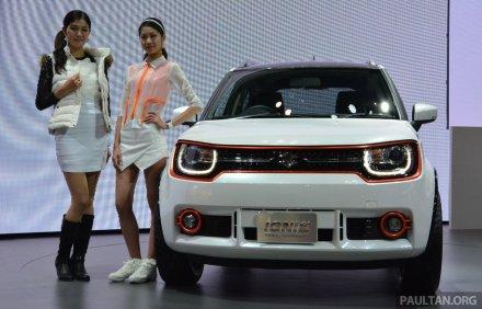 Suzuki Ignis on Ridin'GirlsBlog