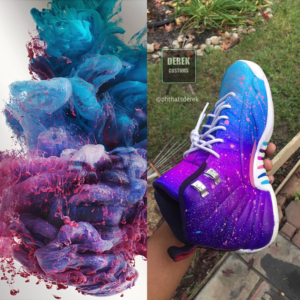 24 Tutorial Rainbow Color Air Force Ones With Video And