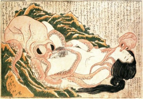 Image result for octopus pleasuring a lady