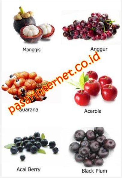 Kandungan Amazon Berries