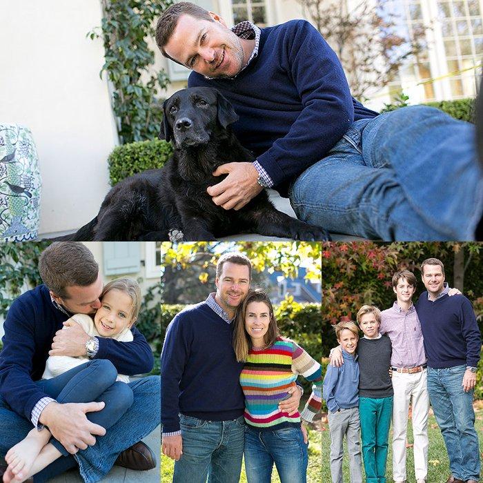 Chris Odonnell S Family