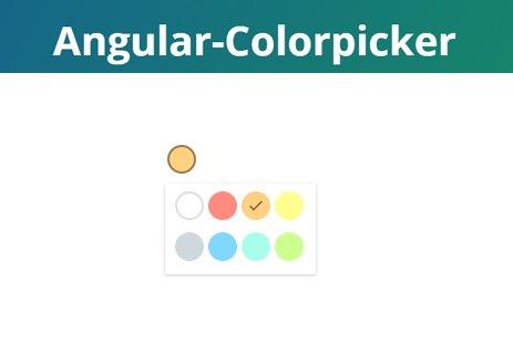colorpicker | Angular.JS circle color-picker similar to google keep's |  #angularjs