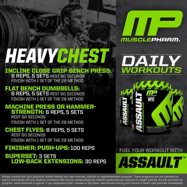 Musclepharm Chest Workout 3 Anotherhackedlife Com